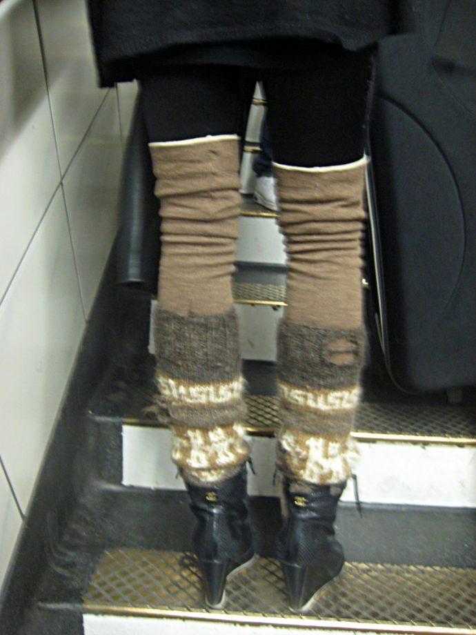 leggings calcetas